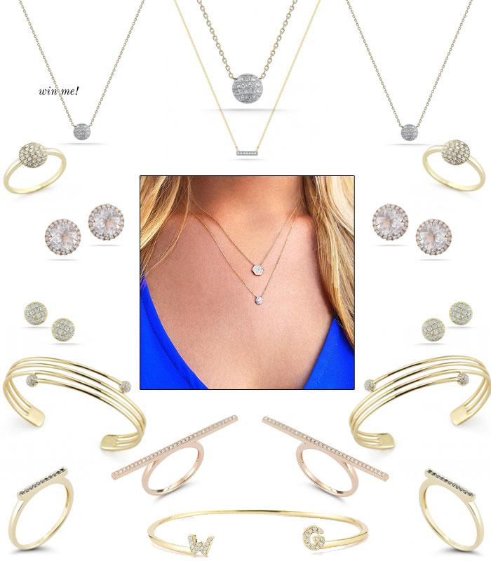 61d87992d70607 Dana Rebecca Diamond Necklace Giveaway. - The Stripe