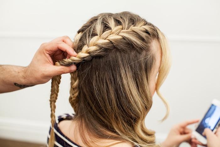 game of thrones khaleesi braid hair tutorial step 13