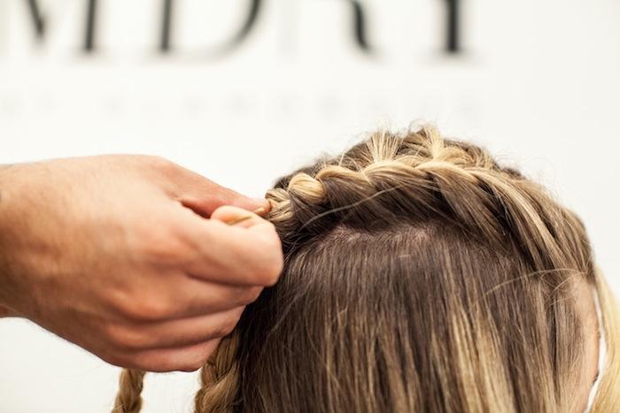 game of thrones khaleesi braid hair tutorial step 14