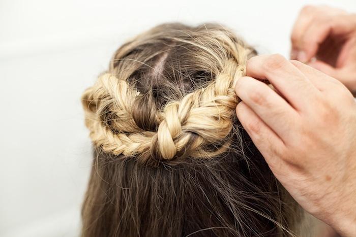 game of thrones khaleesi braid hair tutorial step 20