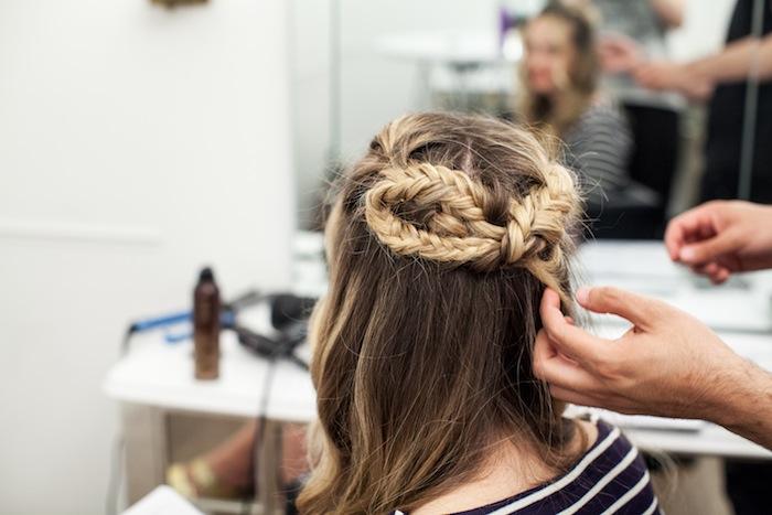 game of thrones khaleesi braid hair tutorial step 22