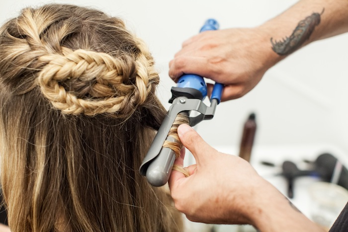 game of thrones khaleesi braid hair tutorial step 23