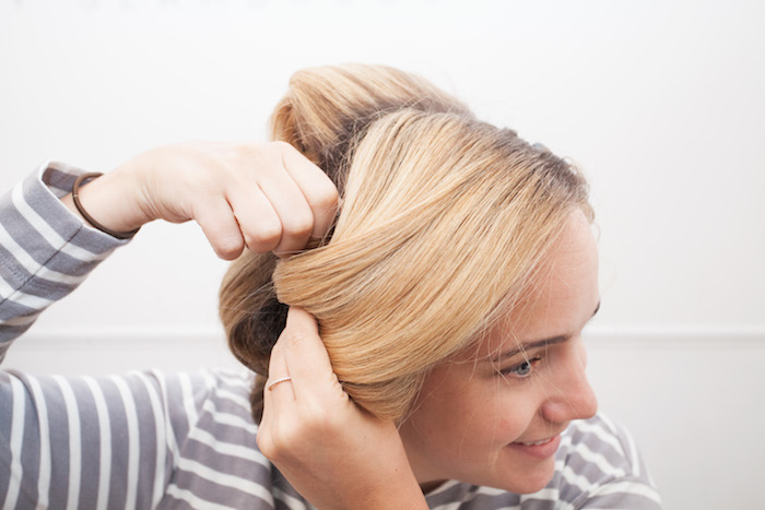how to blow out your hair 14