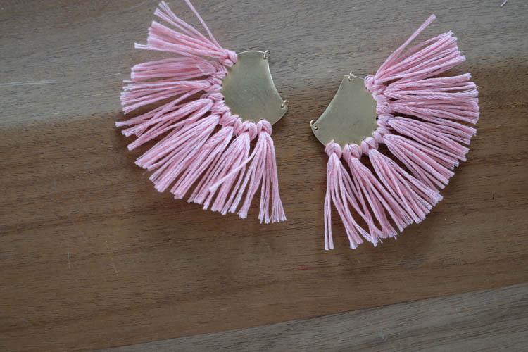 DIY Tassel Earrings19