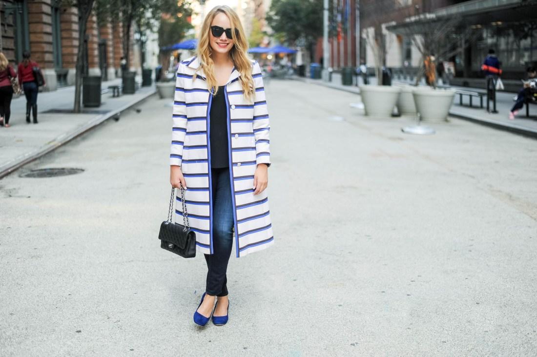 vintage stripe coat doris duke 4