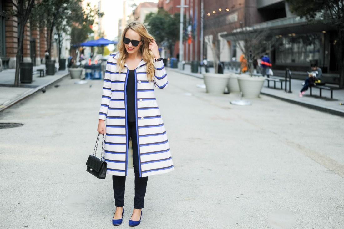 vintage stripe coat doris duke 6