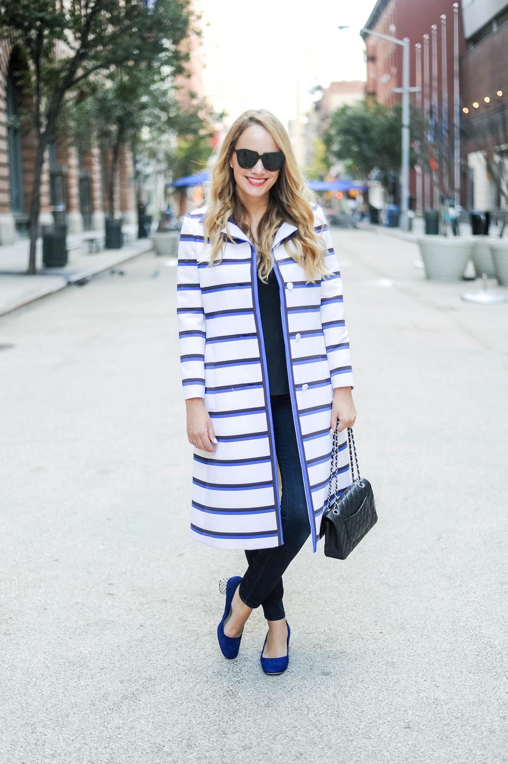 vintage stripe coat doris duke 8