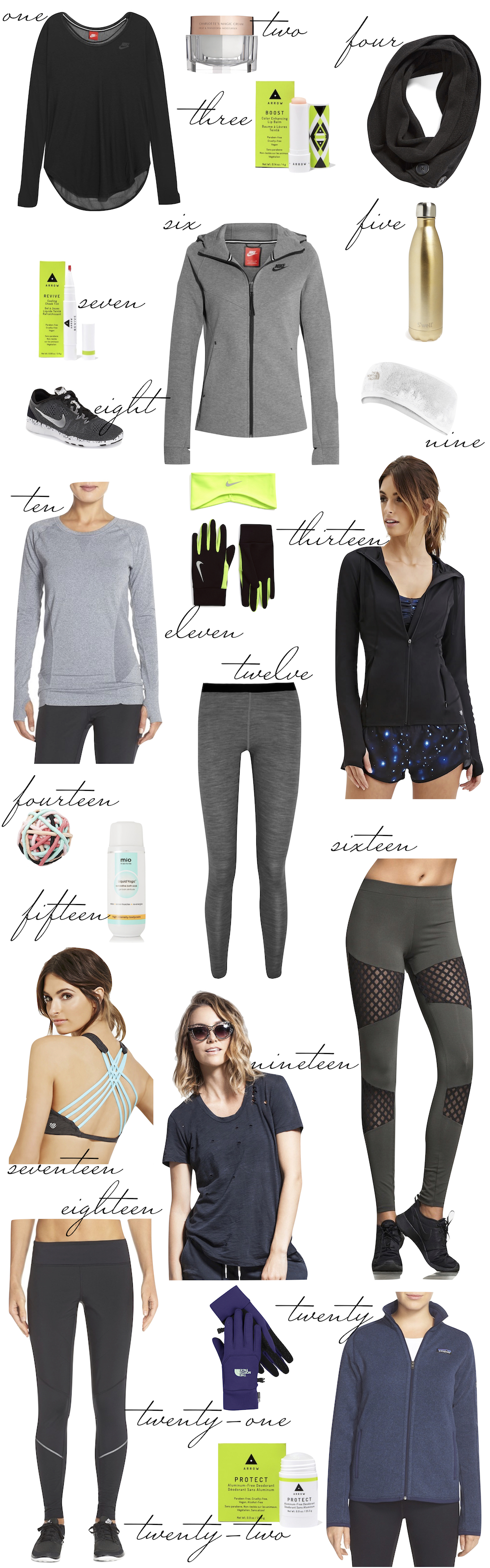 gym class heroes: the best clothing + beauty products for the gym... or running outdoors - the stripe.