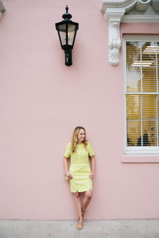 yellow draper james dress 5