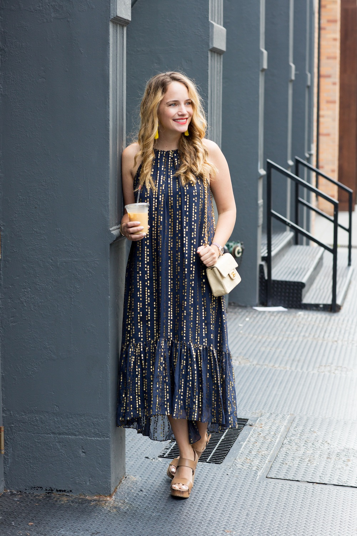 tibi lurex dress 1