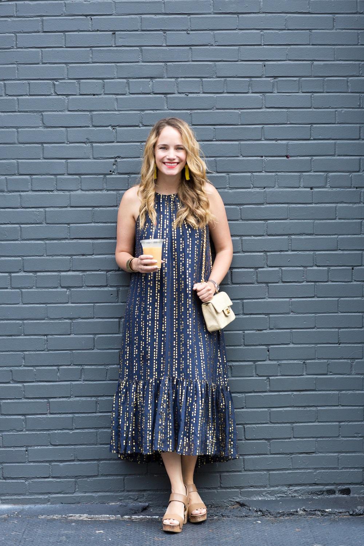 tibi lurex dress 5