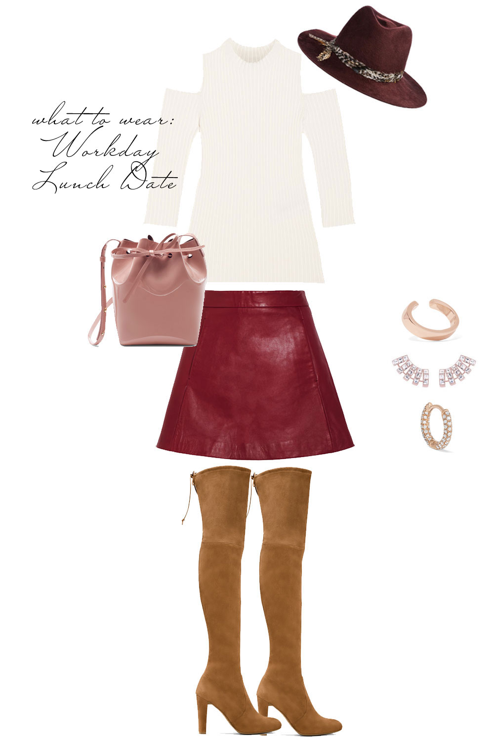 What to Wear on a Date! Workday Lunch. Dating Advice (+ Outfit Ideas) with Emily Holmes Hahn, founder of LastFirst.