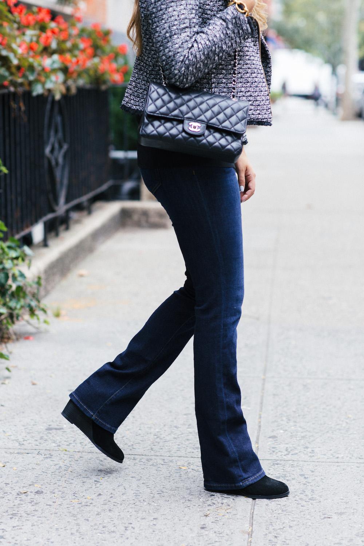 Joe's Honey Curvy Fit Boot Cut Jeans - Grace Atwood, The Stripe