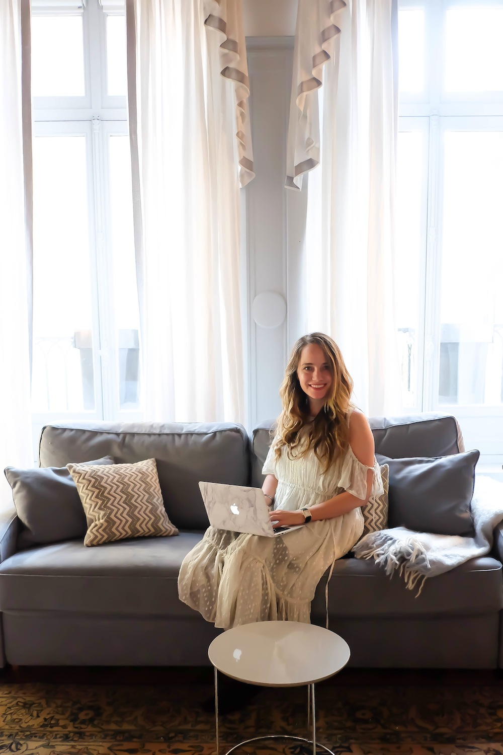 48 hours in Paris // One Fine Stay apartment, Rue St Honore // Grace Atwood, The Stripe