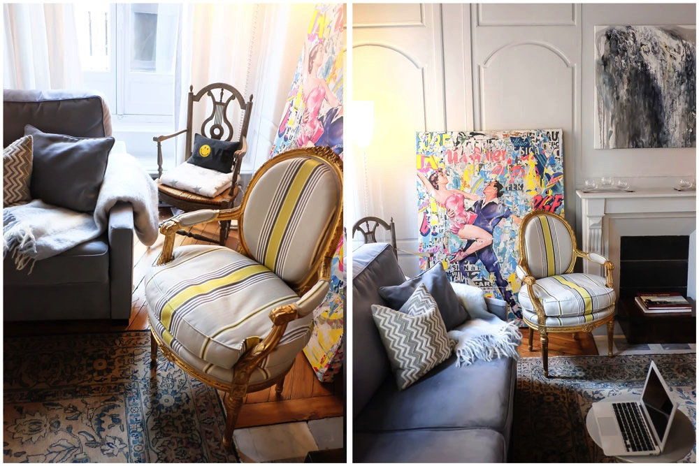 48 hours in Paris // chic Parisian apartment with One Fine Stay, Rue St Honore // Grace Atwood, The Stripe