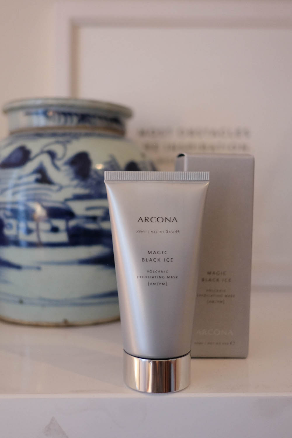 arcona magic black ice review | the stripe