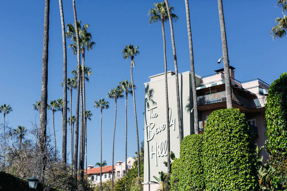 Beverly Hills Hotel sign | The Stripe