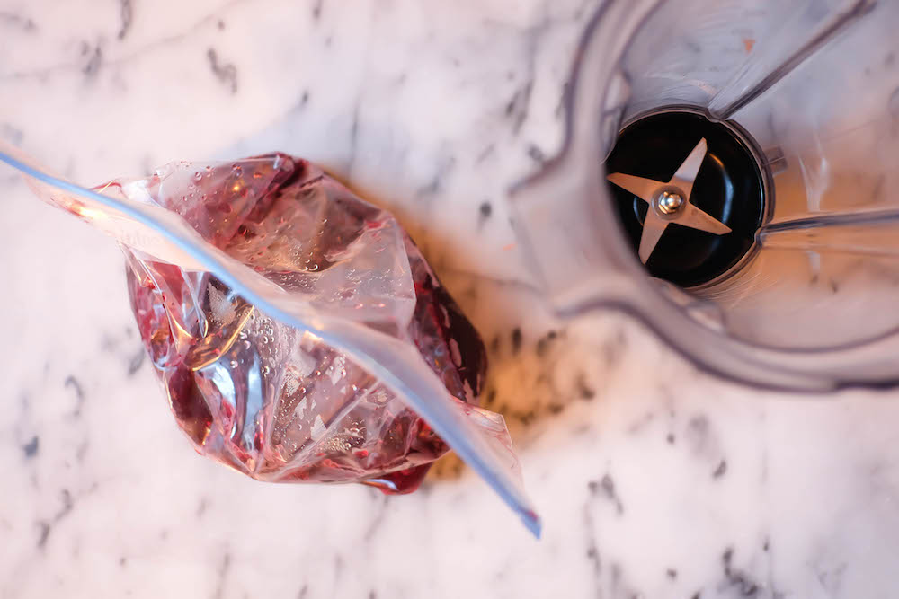 how to make winter frosé   the stripe blog