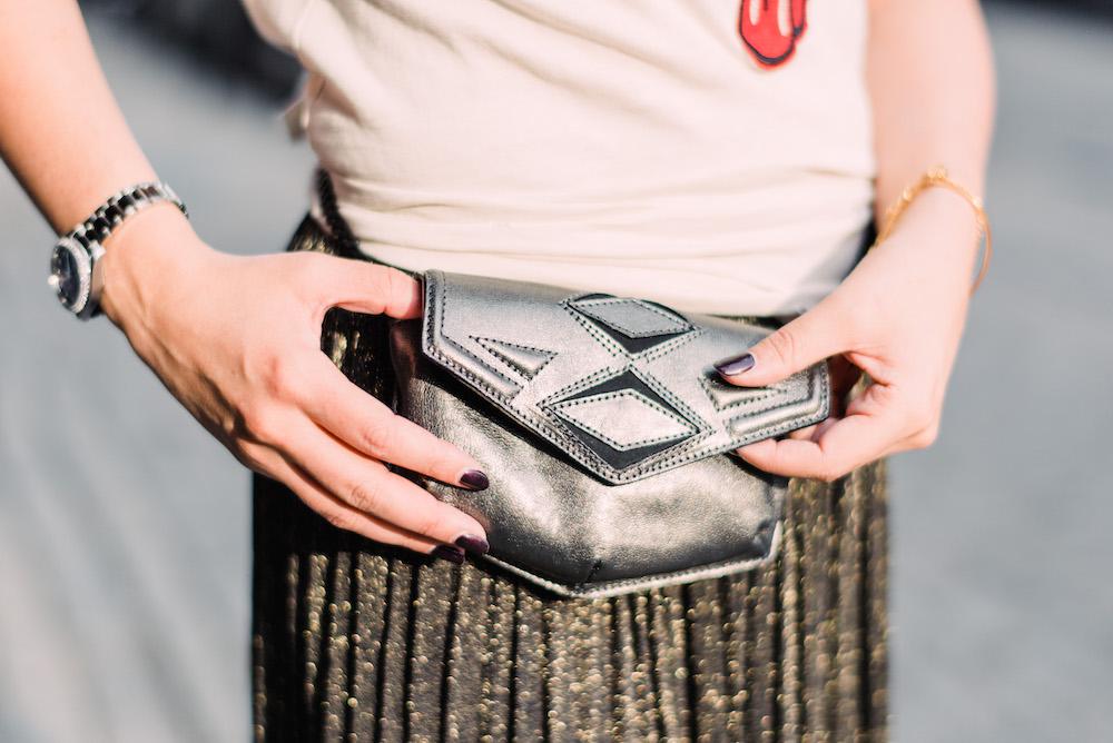 gg maull belt bag | grace atwood, the stripe
