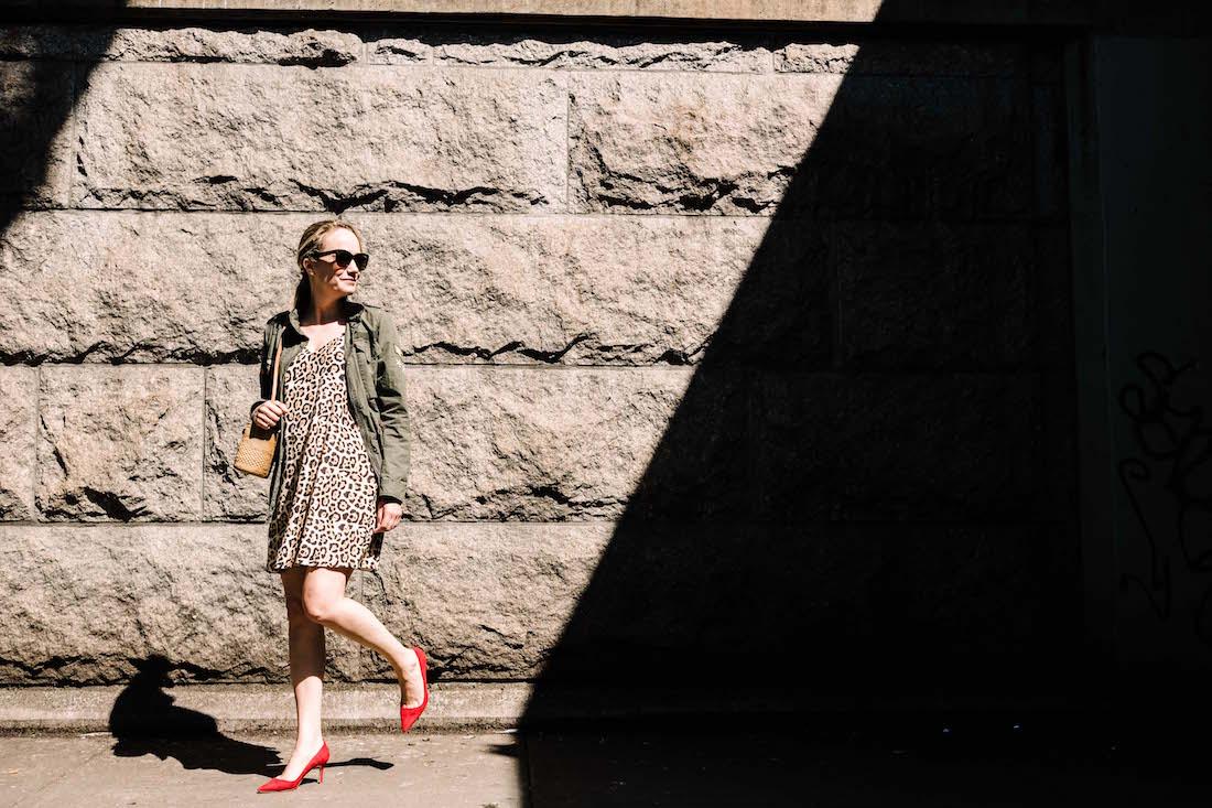 casual leopard dress - the stripe