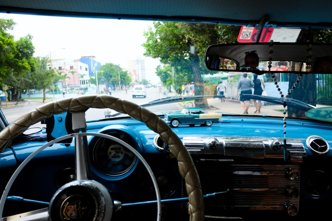 car in Cuba - the stripe