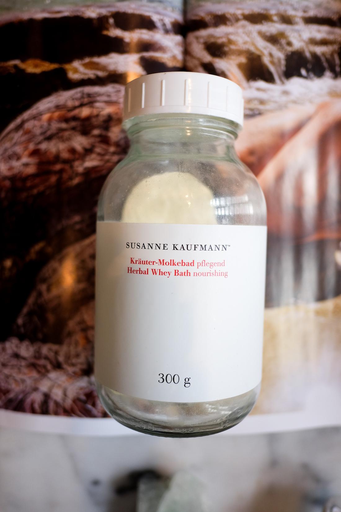 Susanne Kaufmann's Herbal Whey Bath - The Stripe