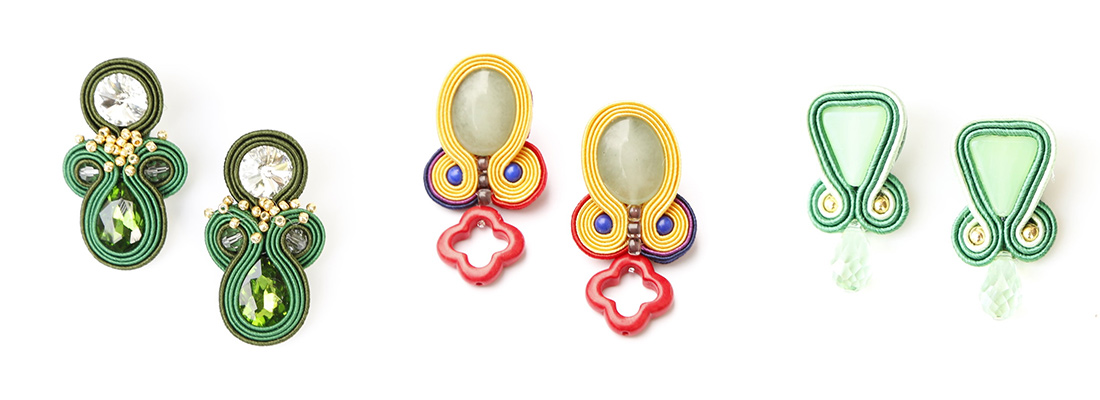 anna livingston handmade statement earrings