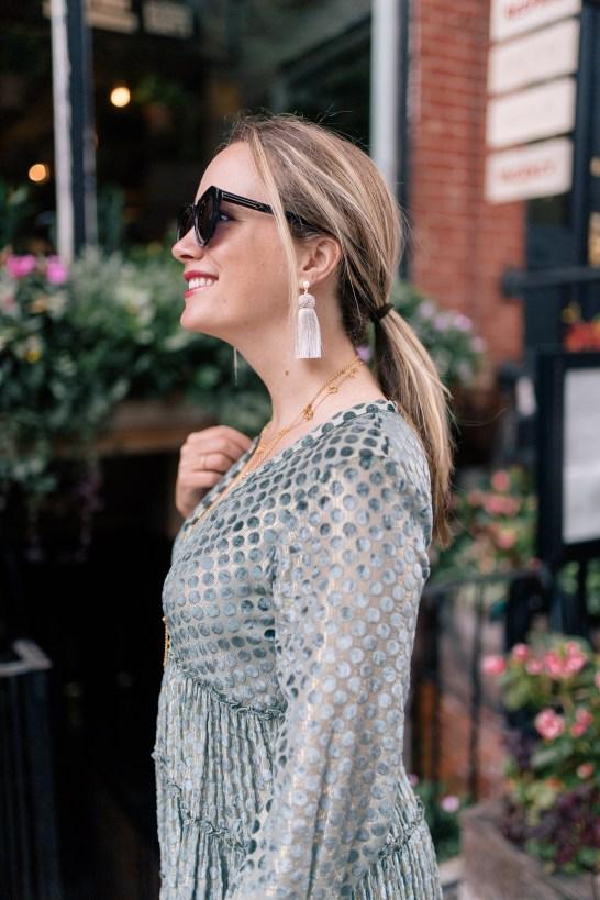 Hart Tassel Earrings