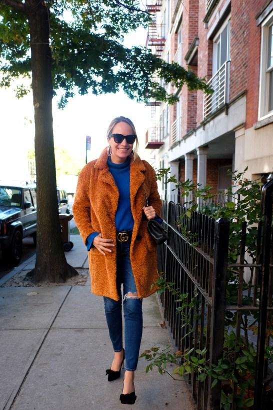 x Atlantic-Pacific Faux Fur Coat HALOGEN®