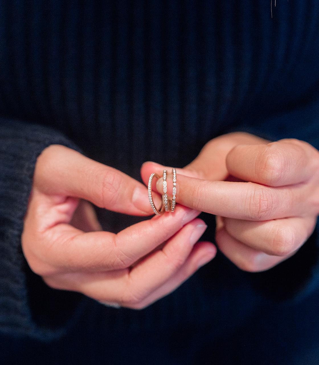 8d1de2c977fb16 My Favorite Diamond Stacking Rings + Giveaway - The Stripe