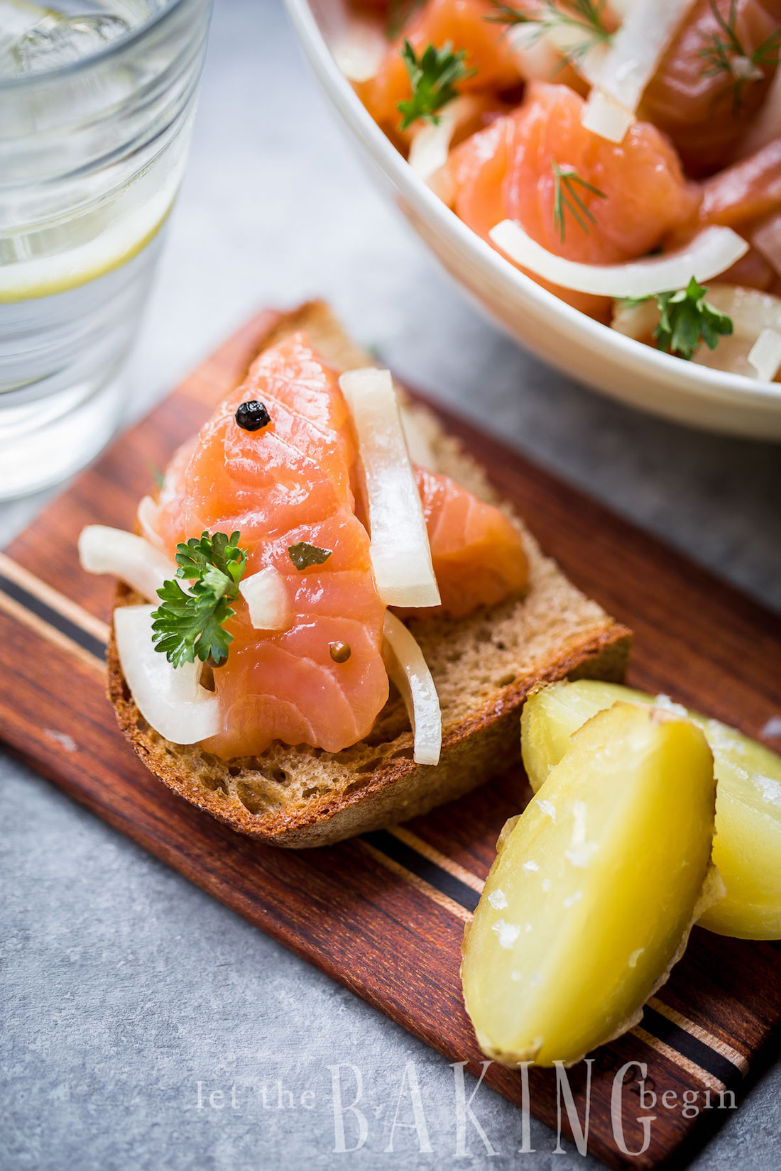 the best make-ahead holiday appetizers   salmon gravlax   the stripe