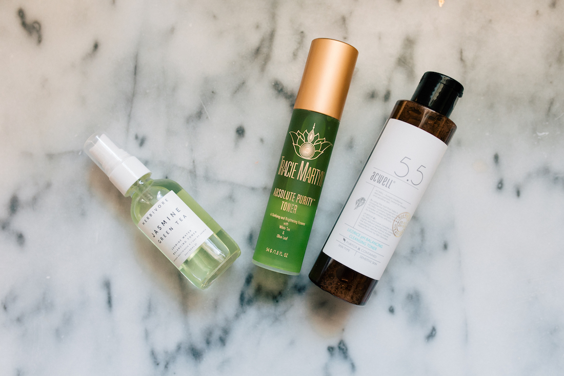 Here are the three toners i tried, in least favorite to favorite order.