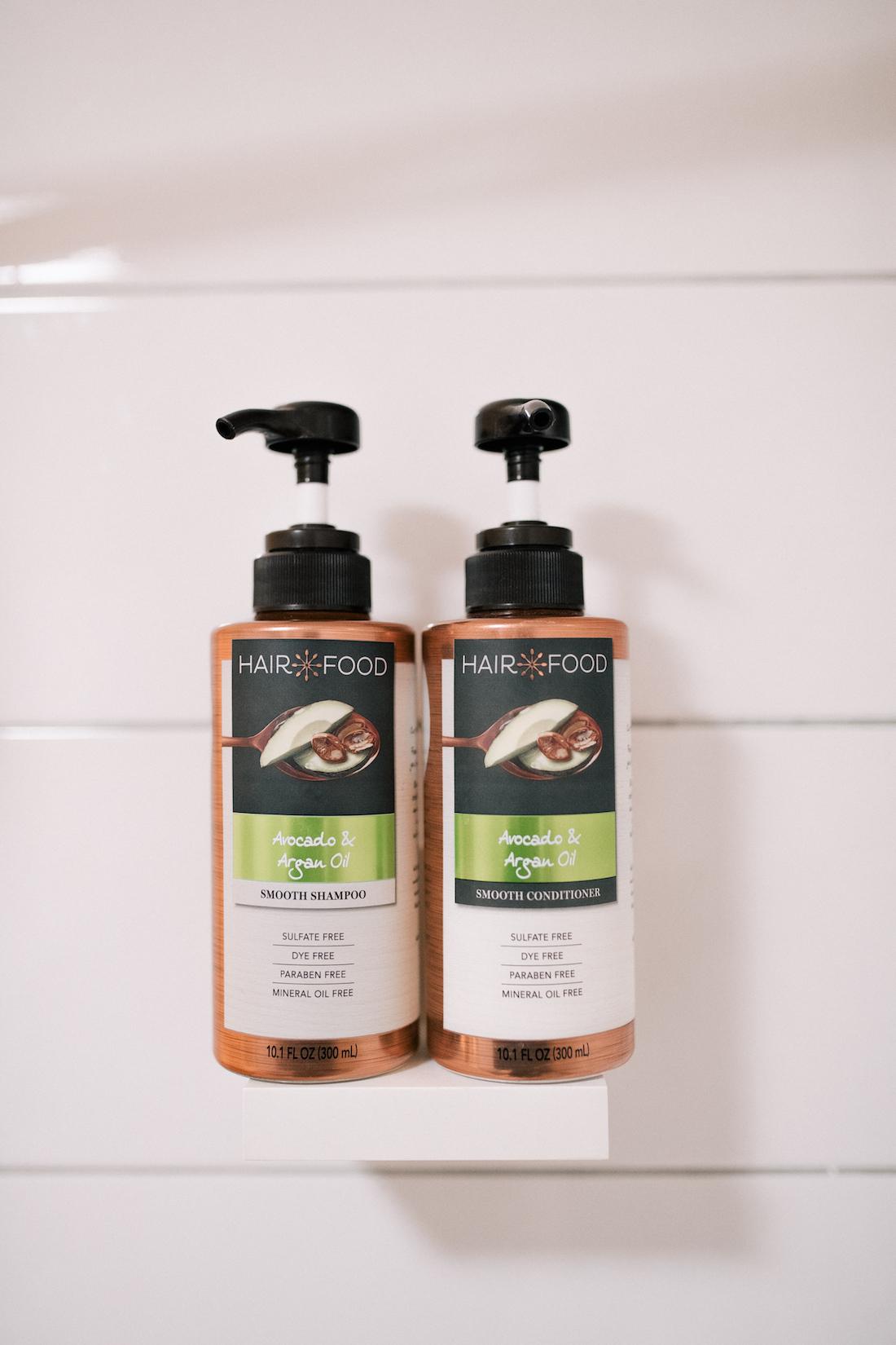 Hair Food - Avocado & Argan Oil Smooth Shampoo and Conditioner