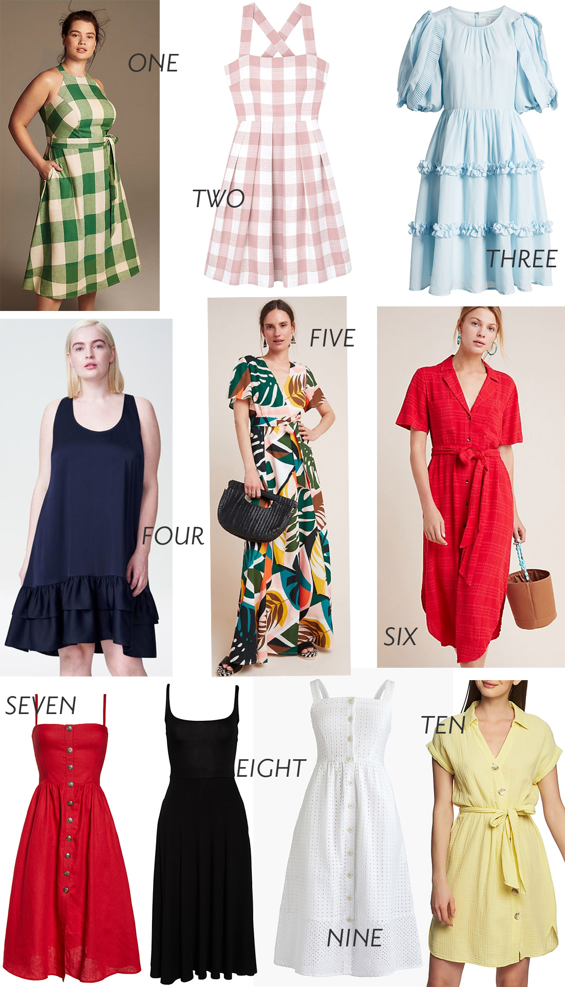 Spring Dresses by Grace Atwood