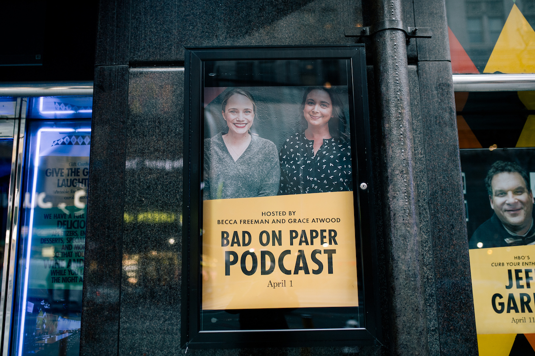 BAD ON PAPER PODCAST