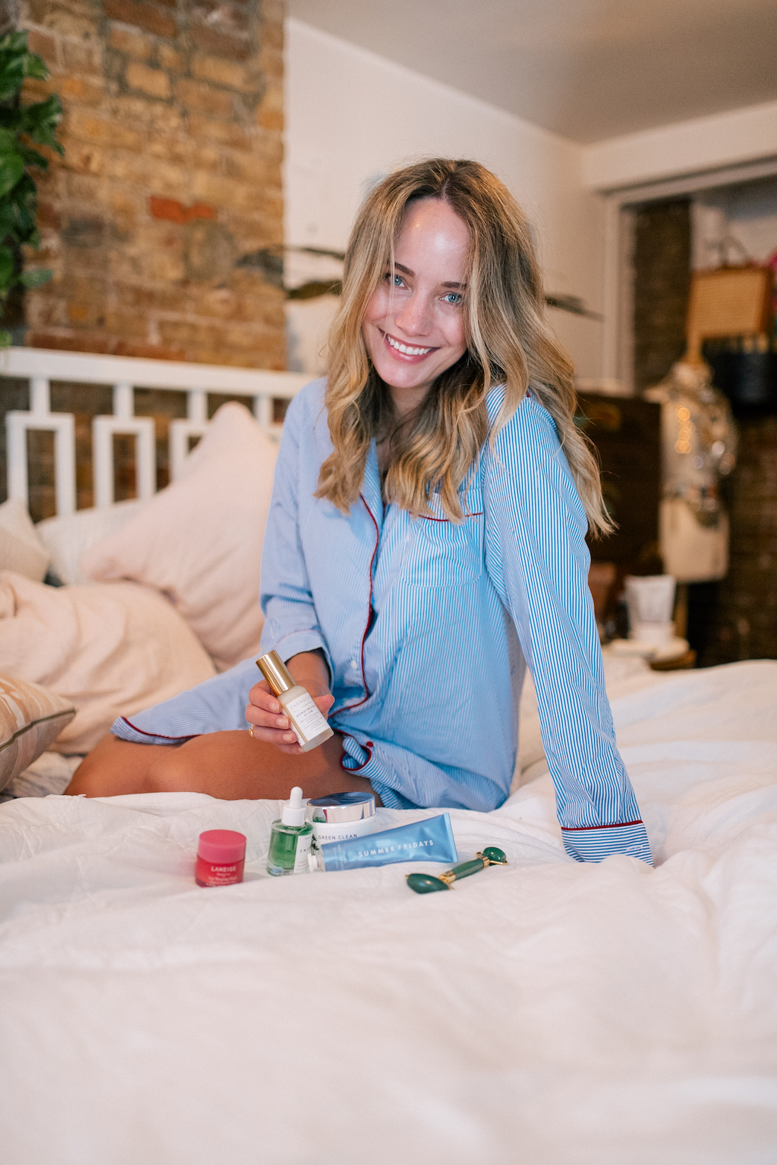 A Bedtime Routine for Glowing Skin