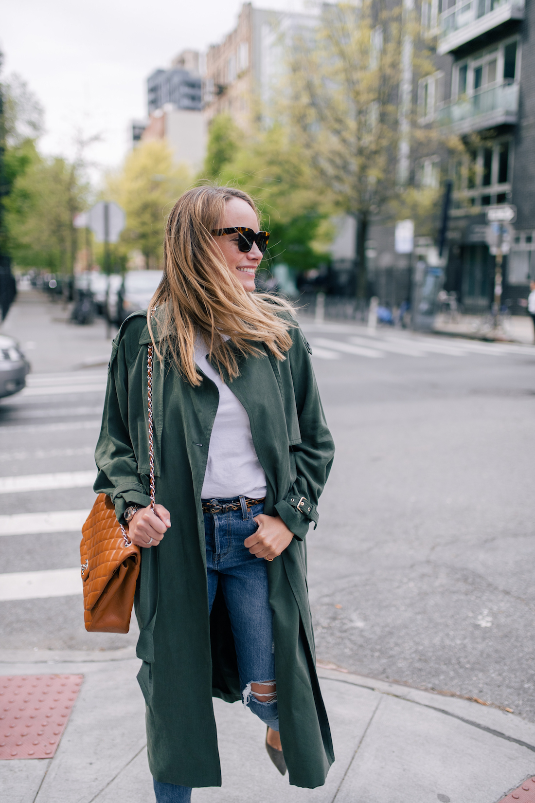 Grace Atwood is featuring a classic style outfit