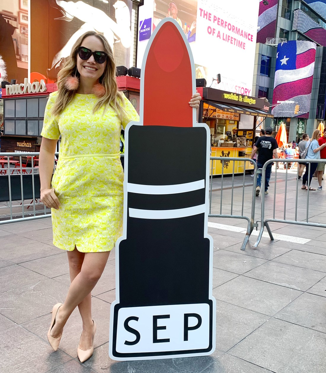 preppy yellow dress featured
