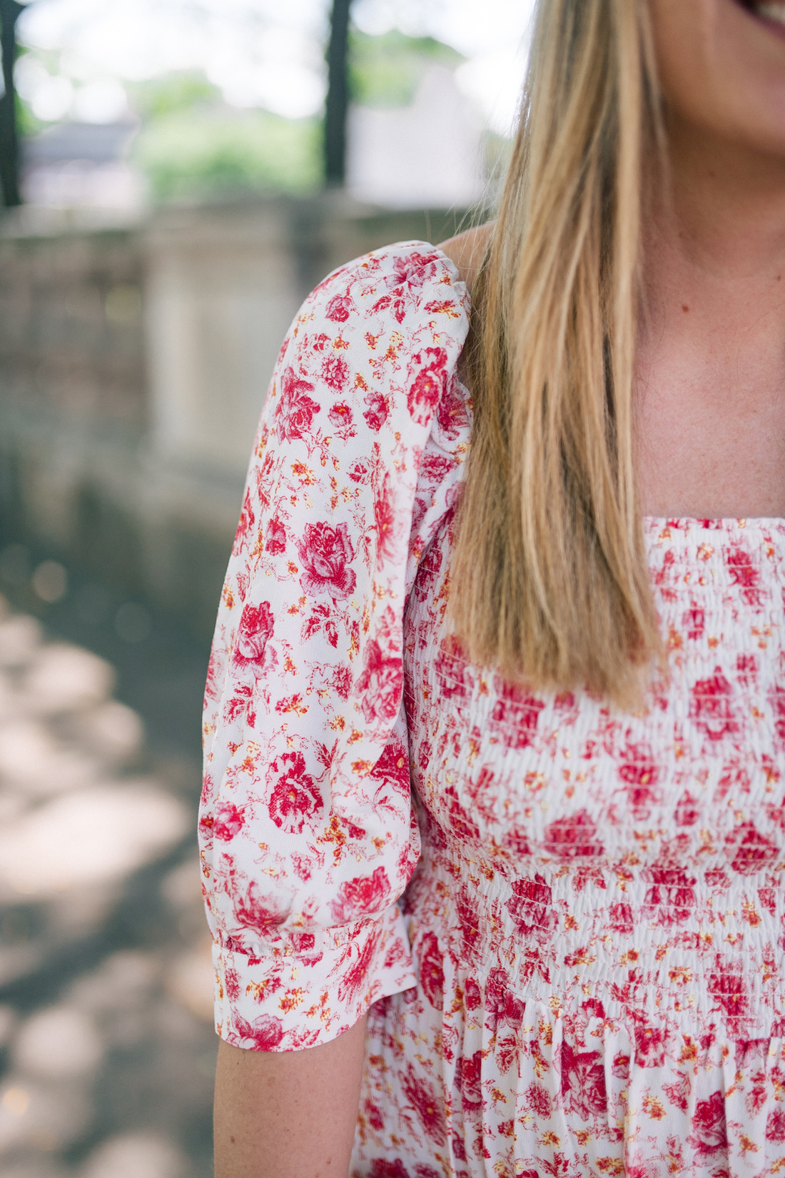 a few fun summer finds - floral summer dress