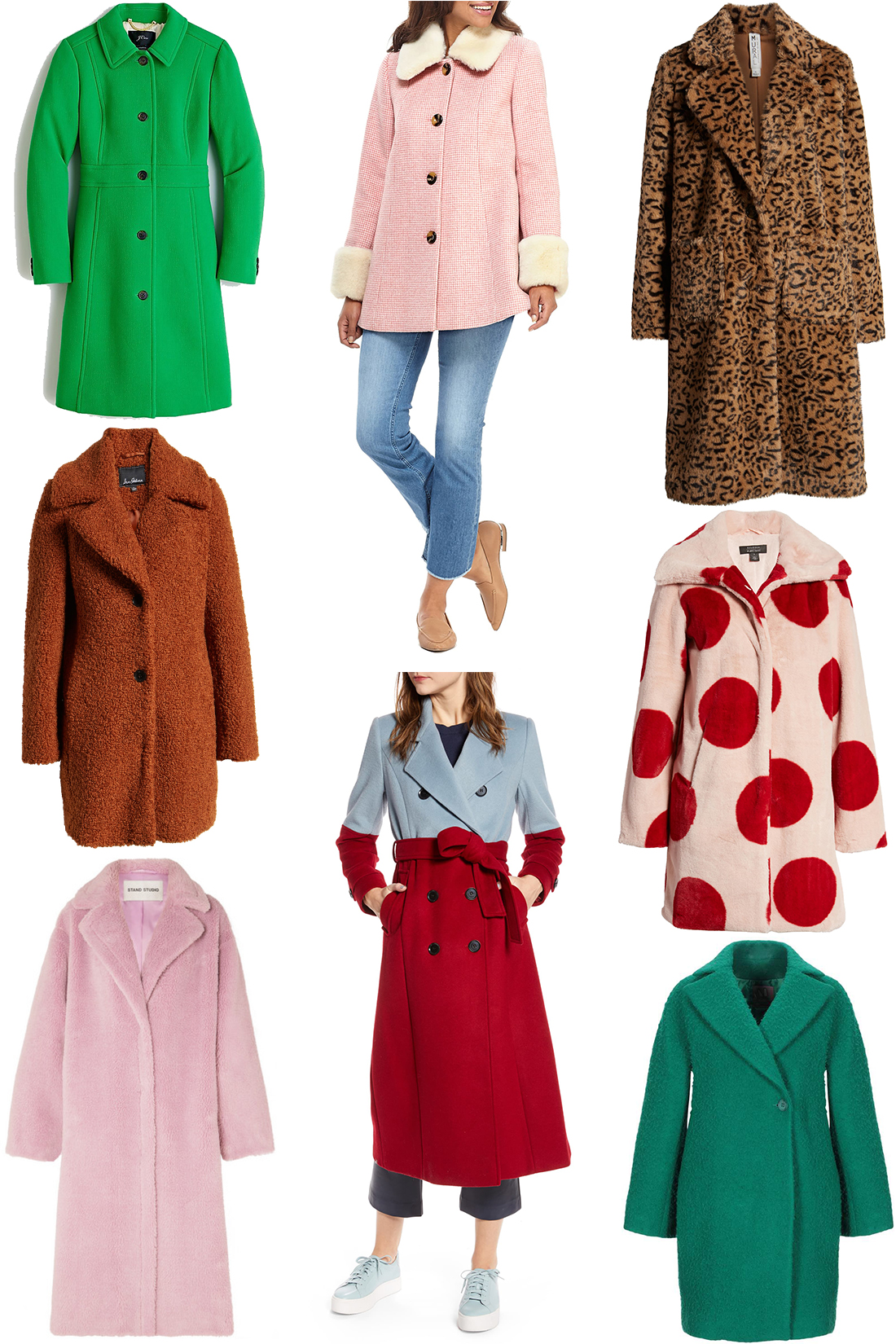 statement coats