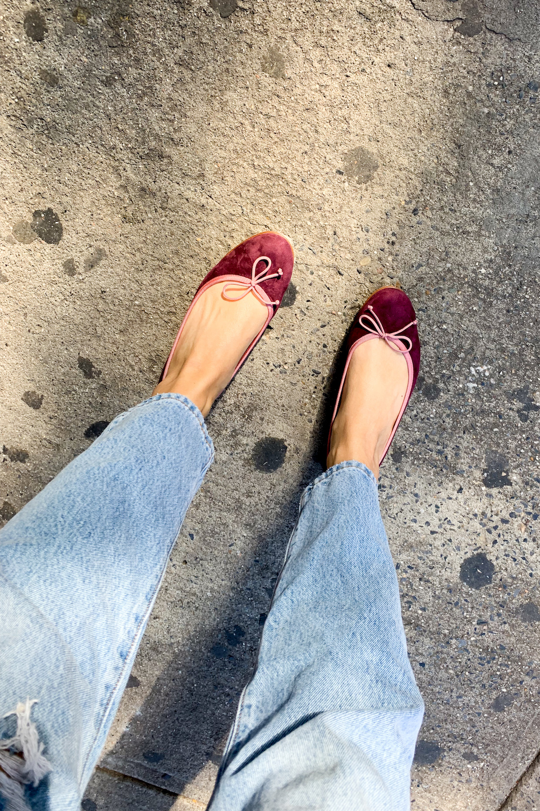 ballet flats - What I Actually Wore: 10.5 - 10.11