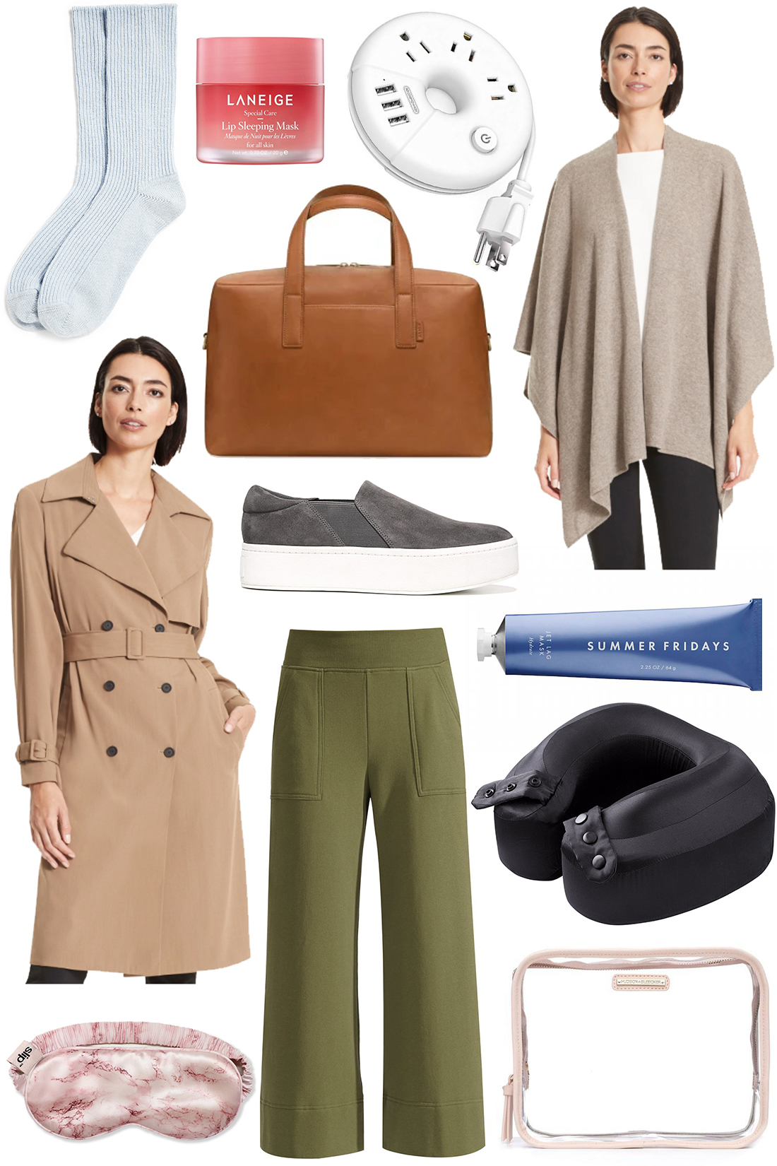 outfit details - travel products