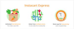 instacart express app