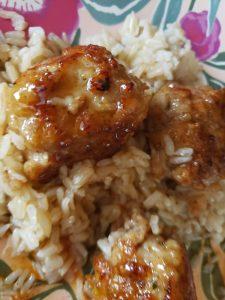 Glenlevit Caribbean Reserve Honey Chipotle Chicken Meatballs