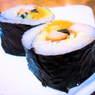 KIMBAB- Korean Sushi Rolls