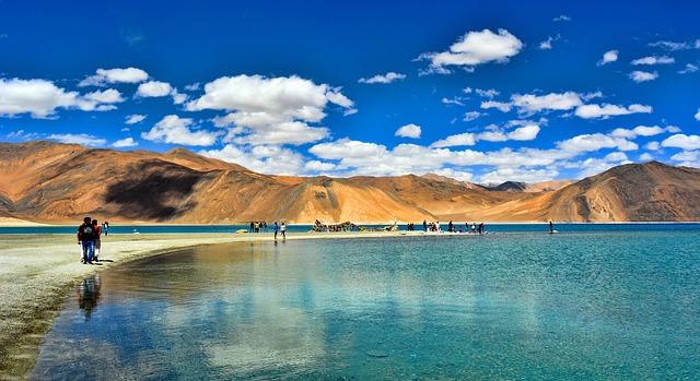 pangong lake- leh ladakh india