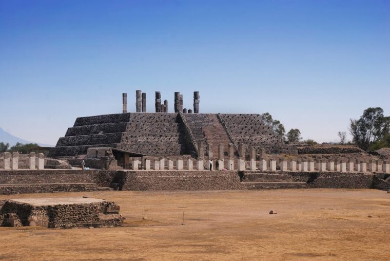 Pyramid of Quetzalcoatl, Tula