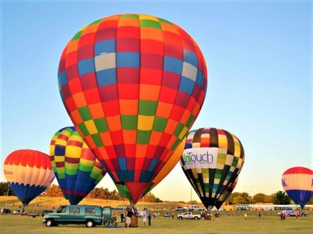 Plano Balloon Festival, Plano, Texas, USA