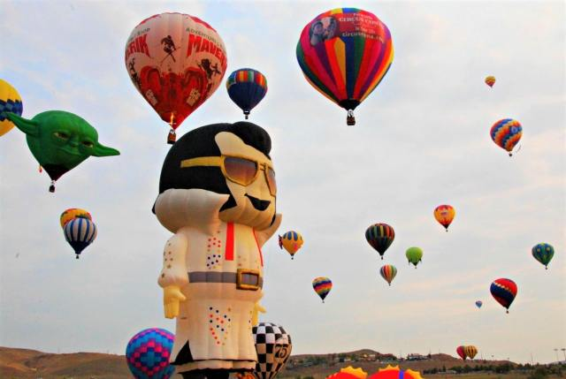 The Great Reno Balloon Race, Nevada, USA