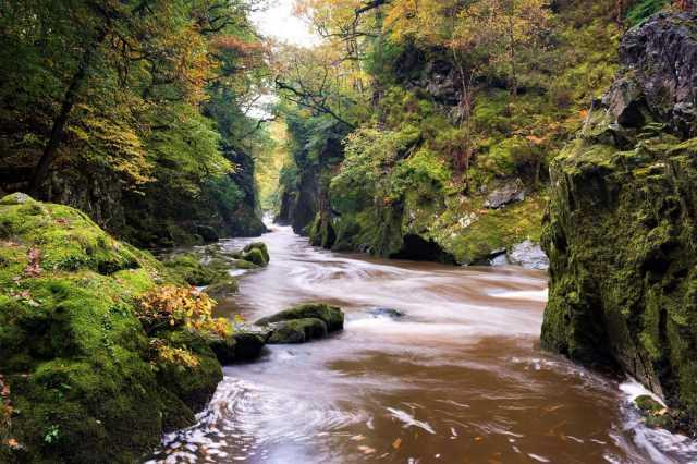 Betws-y-Coed River, Snowdonia